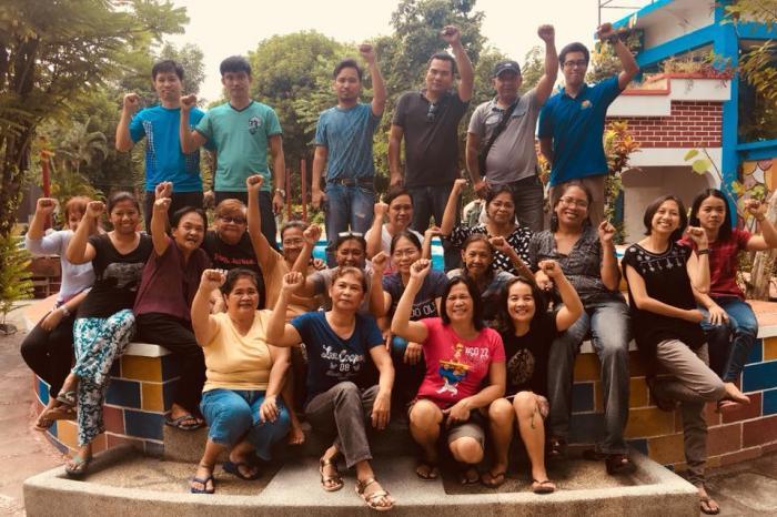 spaarvarkentje voor de dappere Filipijnse activisten