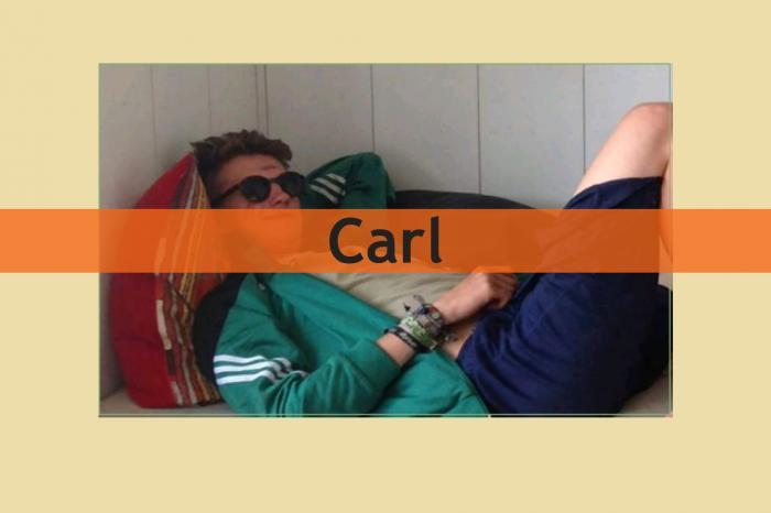 Carl loopt voor het goede doel