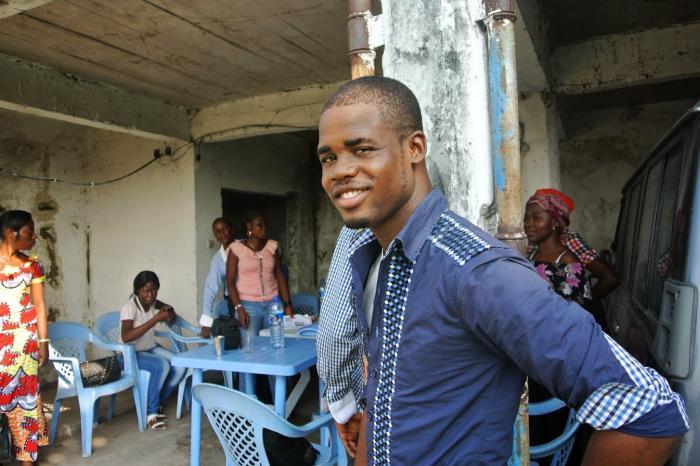Antoine  va courir et transpirer pour le droit à la santé  au Congo