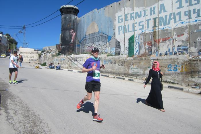 Wim loopt zijn 13e 20 km voor G3W