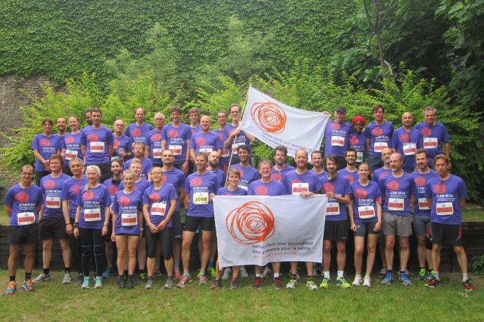 Jean-Luc loopt de 20 km door Brussel voor G3W