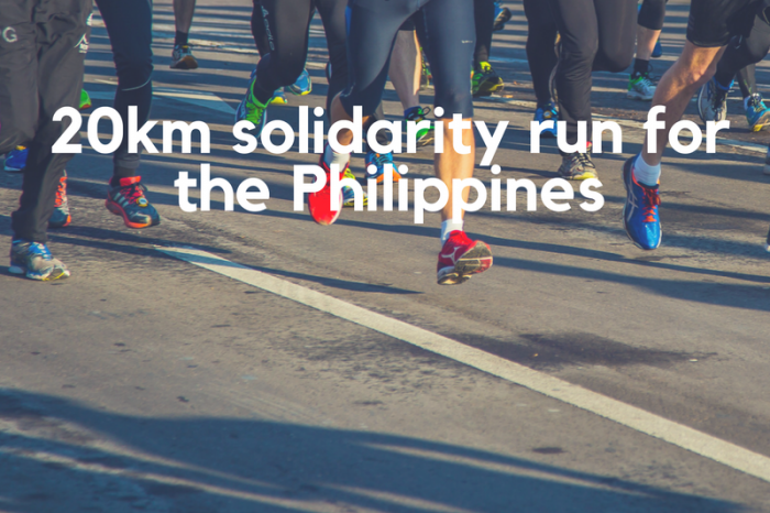 Takbo para sa karapatang pantao: Please support my solidarity run for the Philippines!